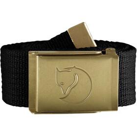 Fjällräven Canvas Brass Belt 4cm, zwart